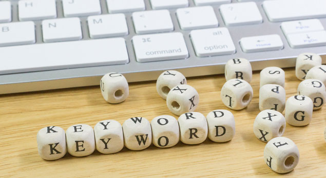 Keywords content traffic website search engine result pages